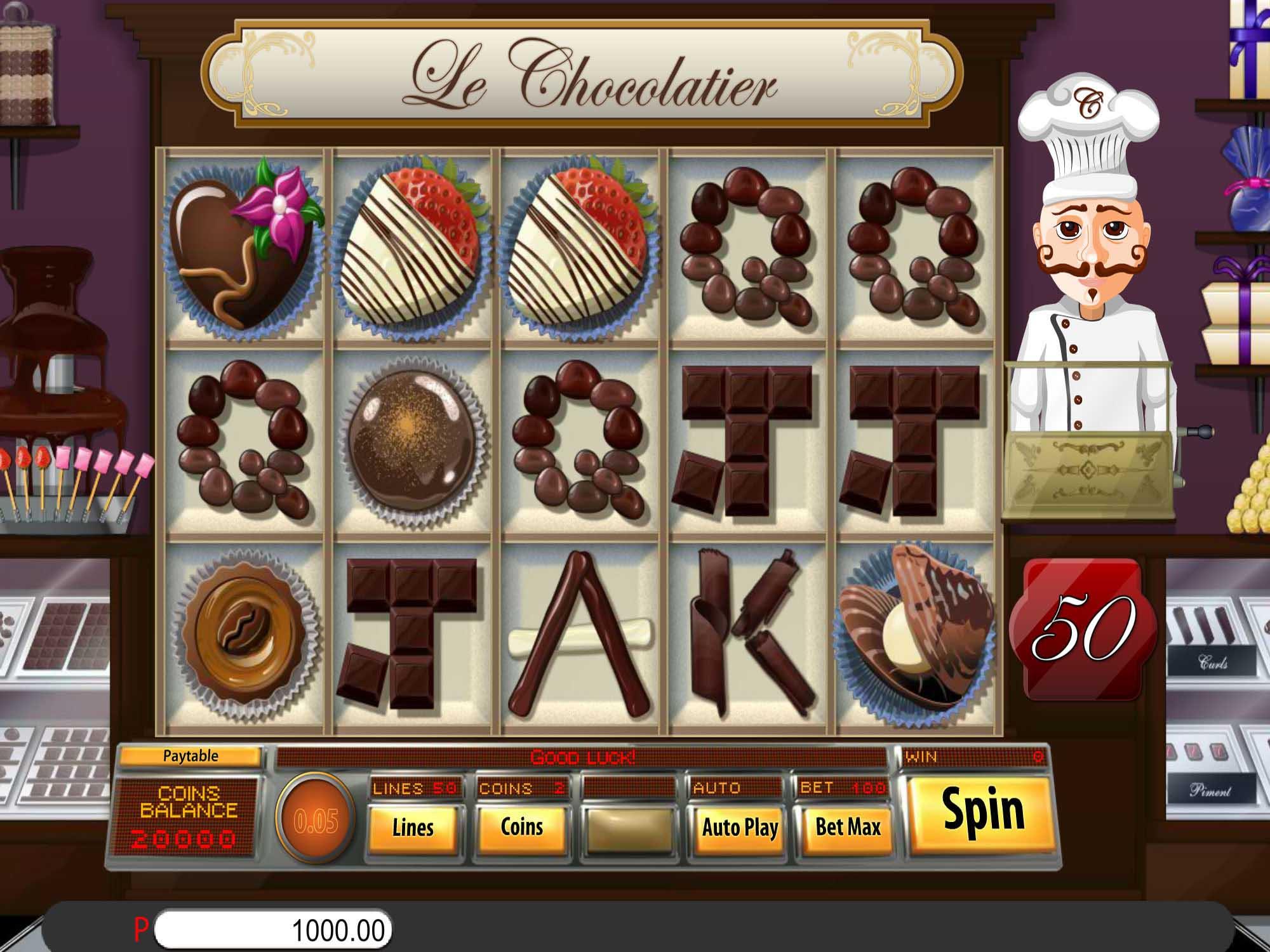Le Chocolatier Slot UK