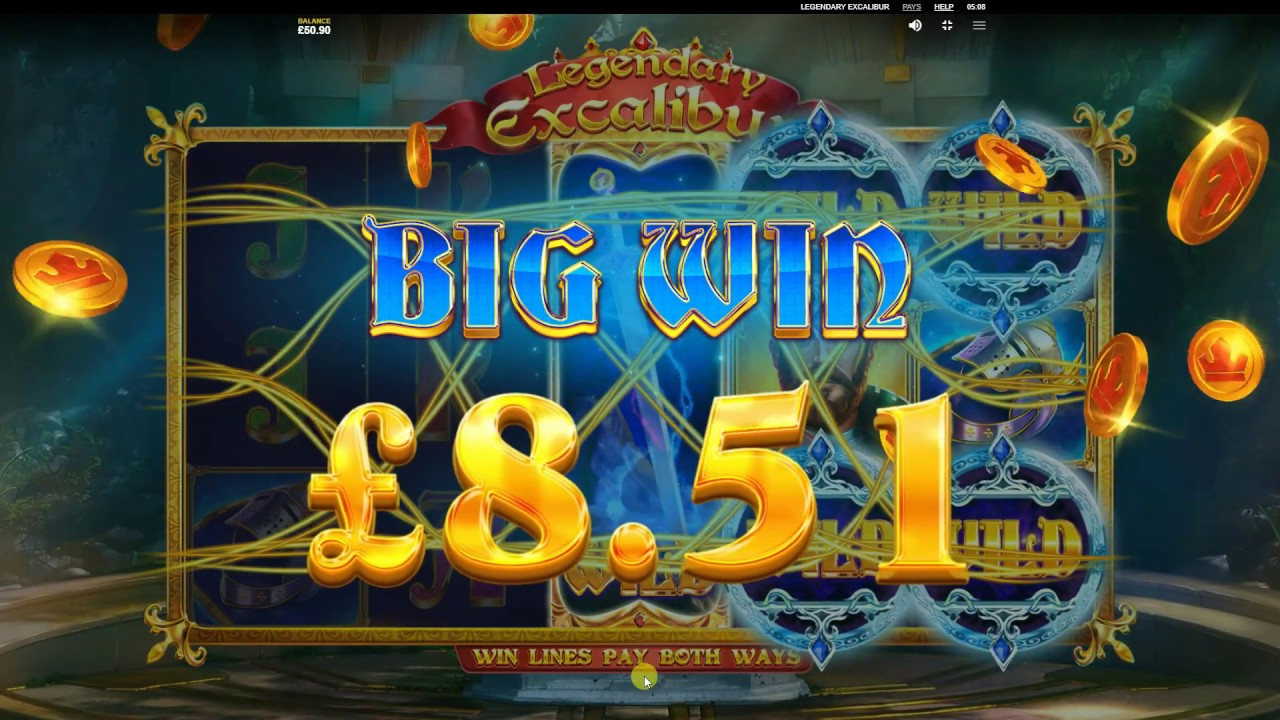 Legendary Excalibur Slot Big Win