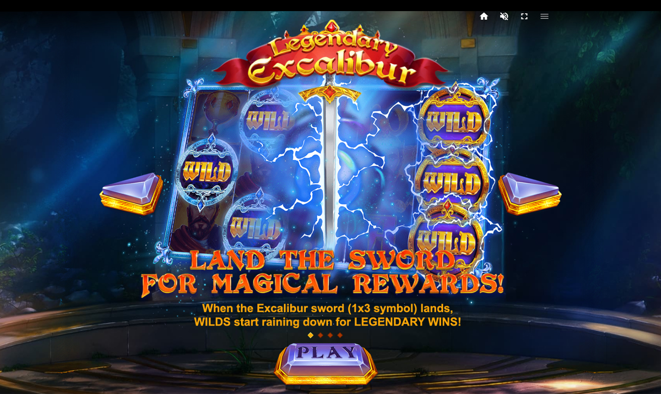 Legendary Excalibur Slot Wilds