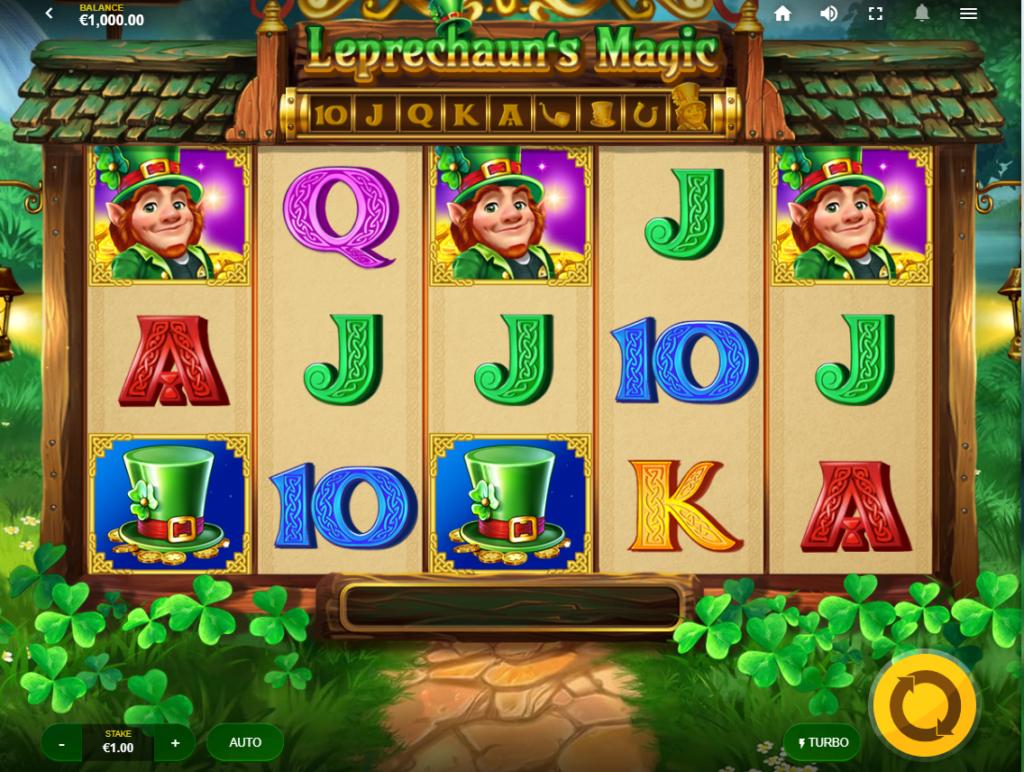 Leprechaun's Magic Slots UK