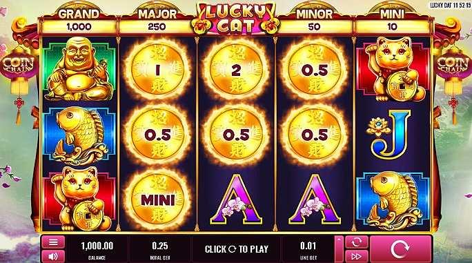 Lucky Cat Casino Game