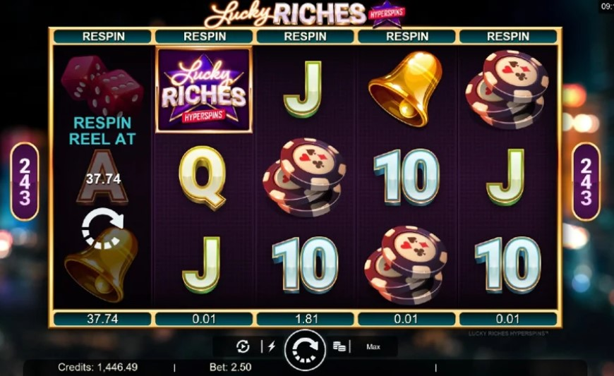 Lucky Riches Slot Online