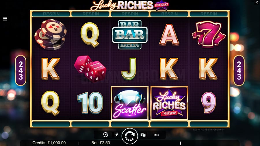 Lucky Riches Slots Game