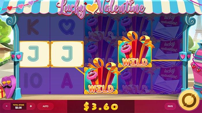 lucky valentine slot machine