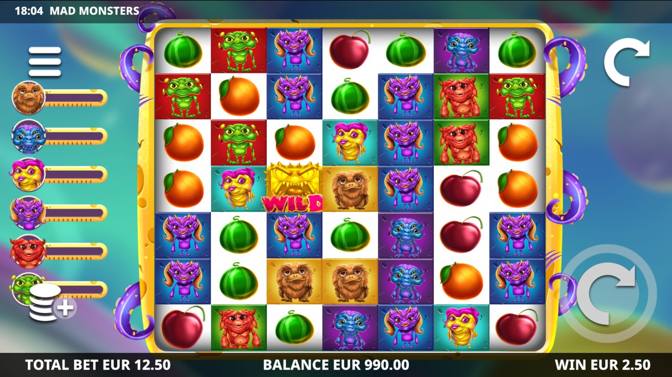 Mad Monsters Slots Online