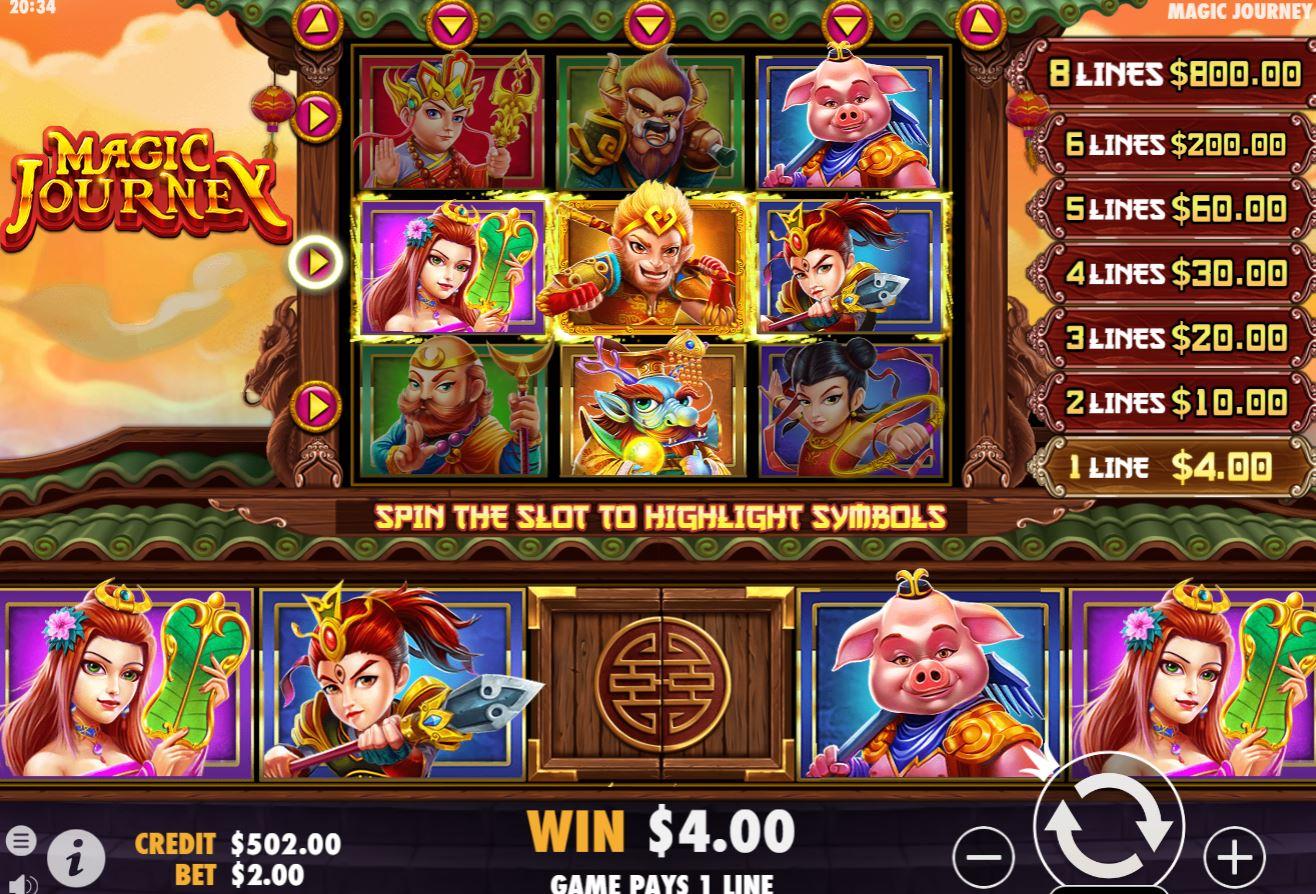 Magic Journey Slots UK