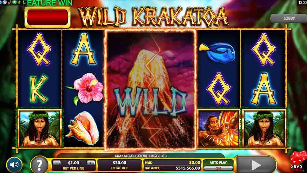Wild Krakatoa Slots Wild
