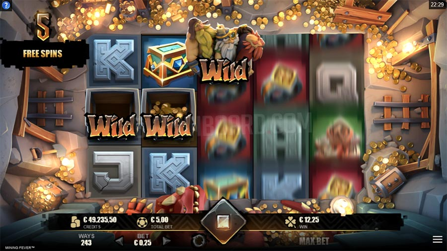Mining Fever Slots Game