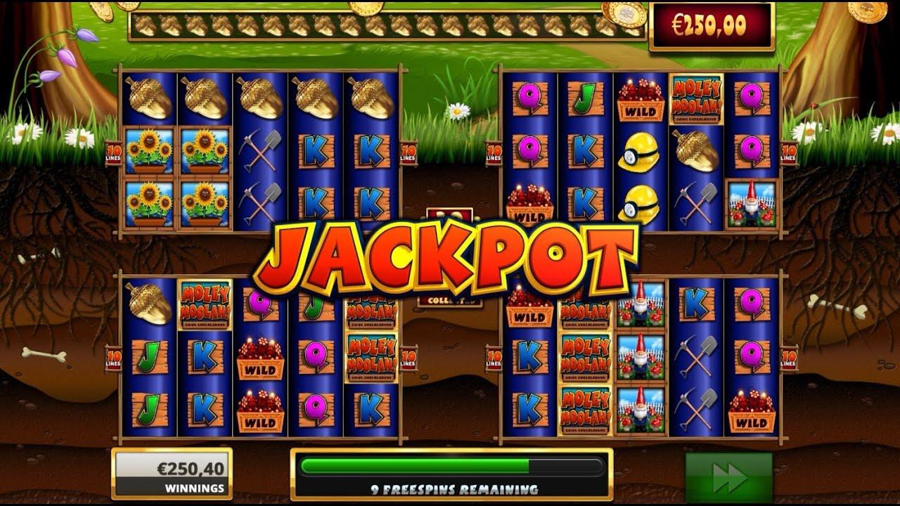Moley Moolah! Jackpot Slots!