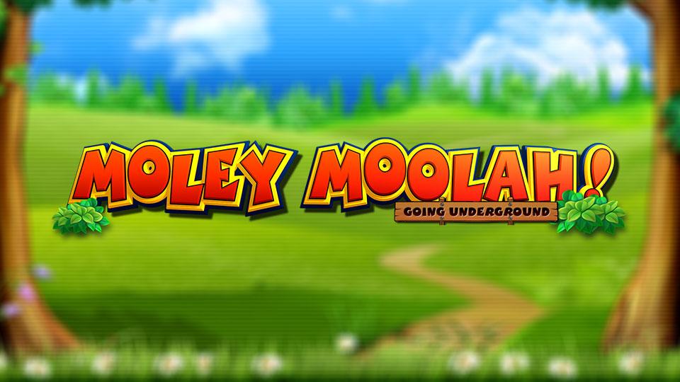 Moley Moolah! Slot Logo Umbingo
