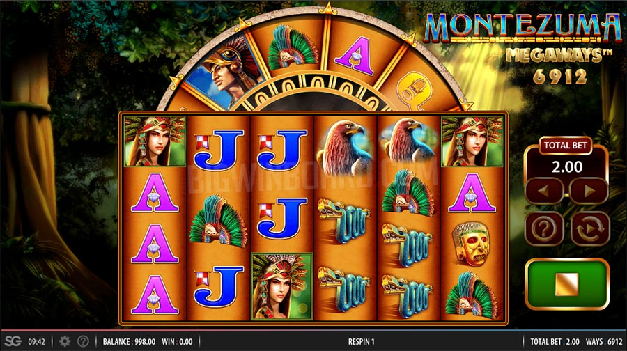Montezuma MegaWays Casino Game