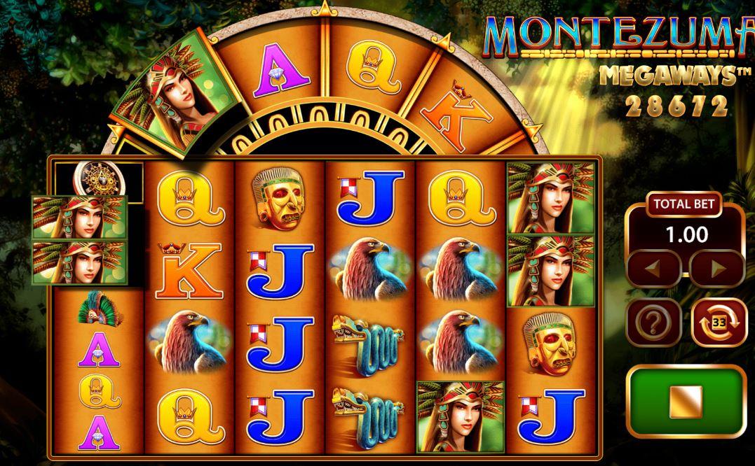 Montezuma MegaWays Casino Slot