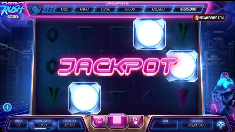 Neon Rush Free Slot