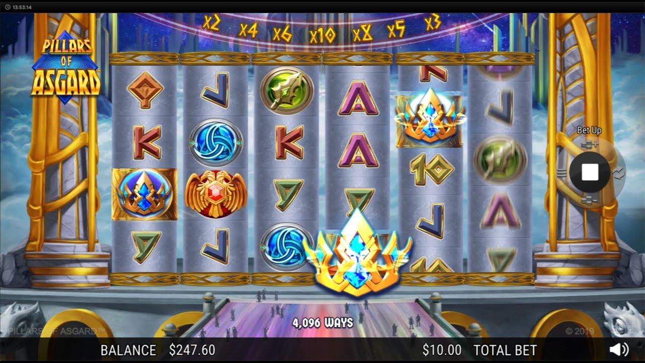 Pillars of Asgard Casino Game