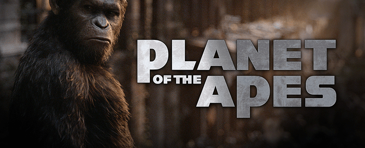 Planet of the Apes Slot Banner