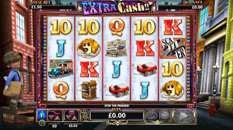 Extra Cash Slot Online