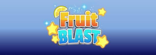 Fruit Blast slot logo - play at Umbingo