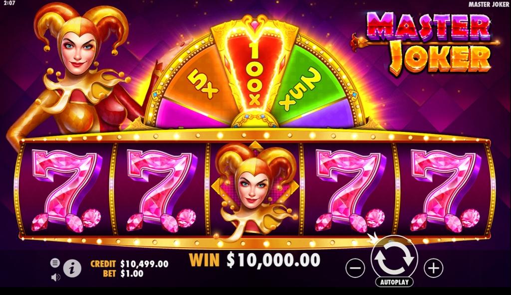 Master Joker Casino Game Play