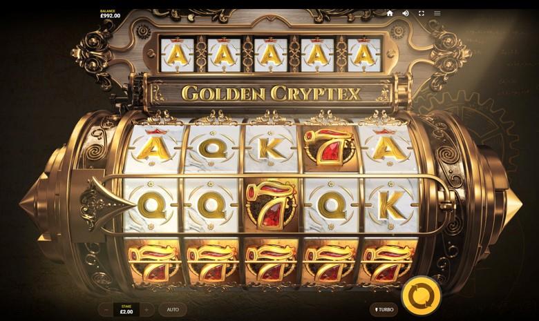 Golden Cryptex Casino Game