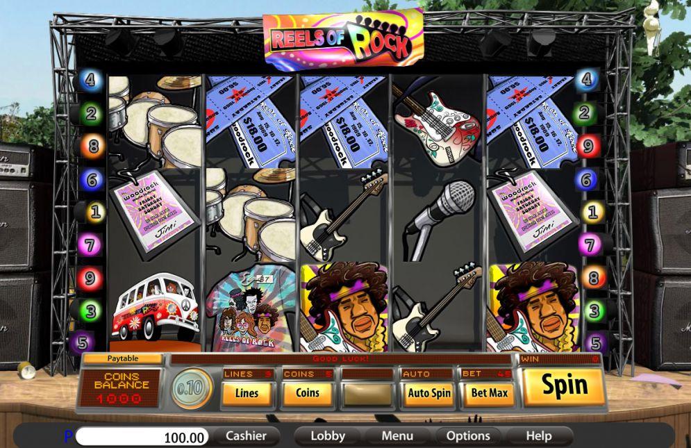 Reels of Rock Slot Game