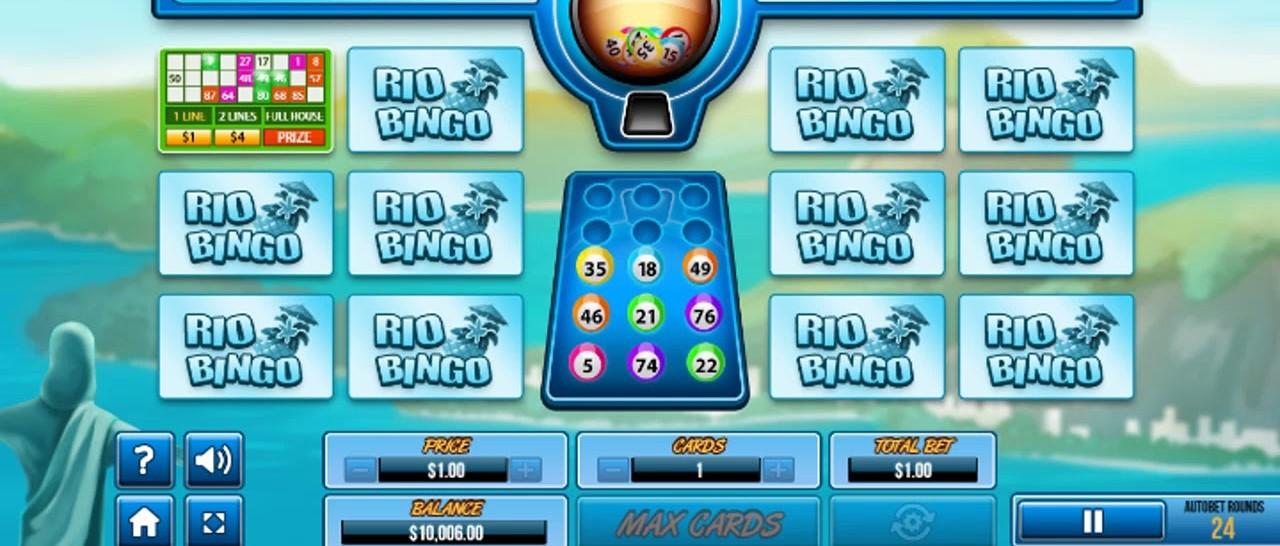 Rio Bingo Instant Slot Gameplay