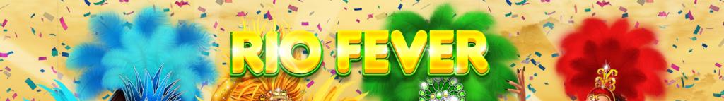 Rio Fever Slot Banner