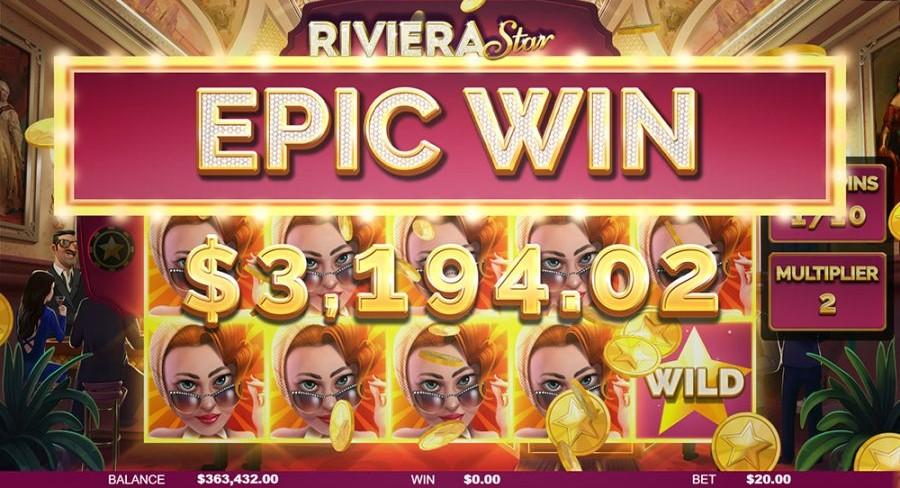 Riviera Star Online slot