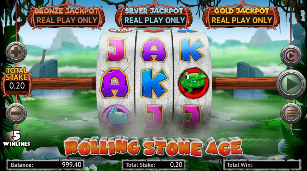 Rolling Stone Age Slots