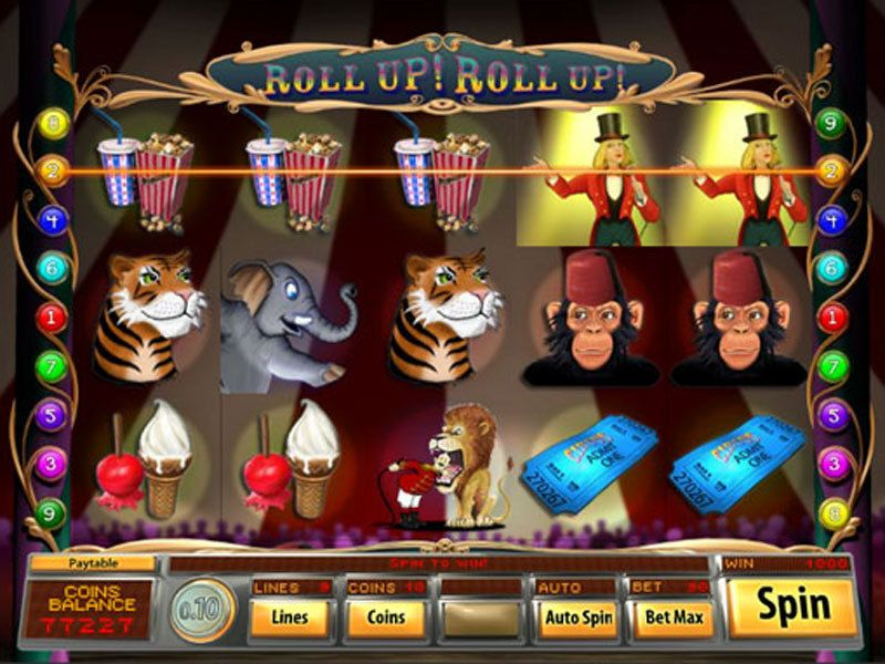 Roll Up! Roll Up! Slot UK