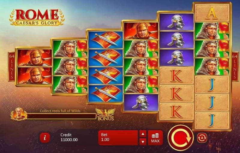 Rome: Caesar's Glory Casino Game