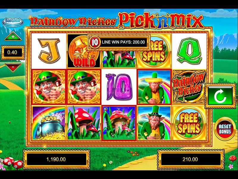 Rainbow Riches Pick n Mix Gameplay casino