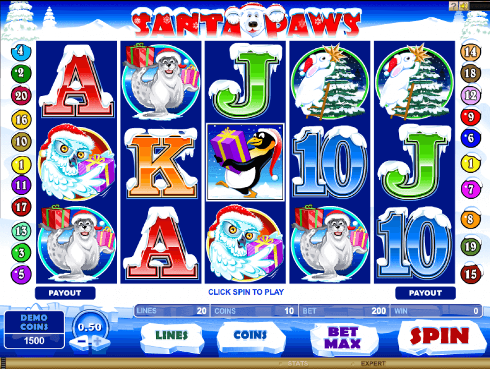 Santa Paws Slots Online