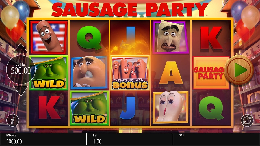 Sausage Party Slots Game