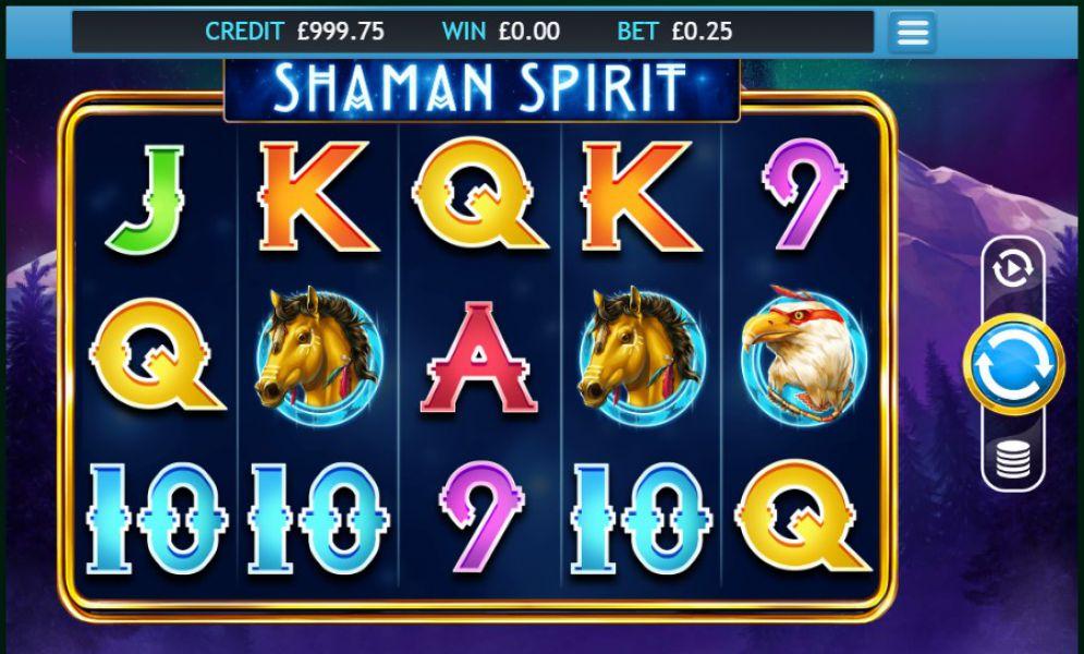 Shaman Spirit Slot Gameplay