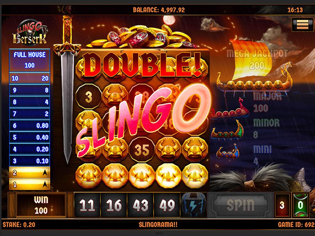 Slingo Berserk Slot Big Win