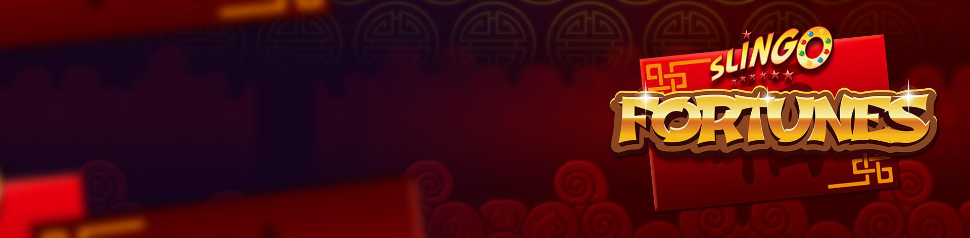 Slingo Fortunes Slot Logo Umbingo