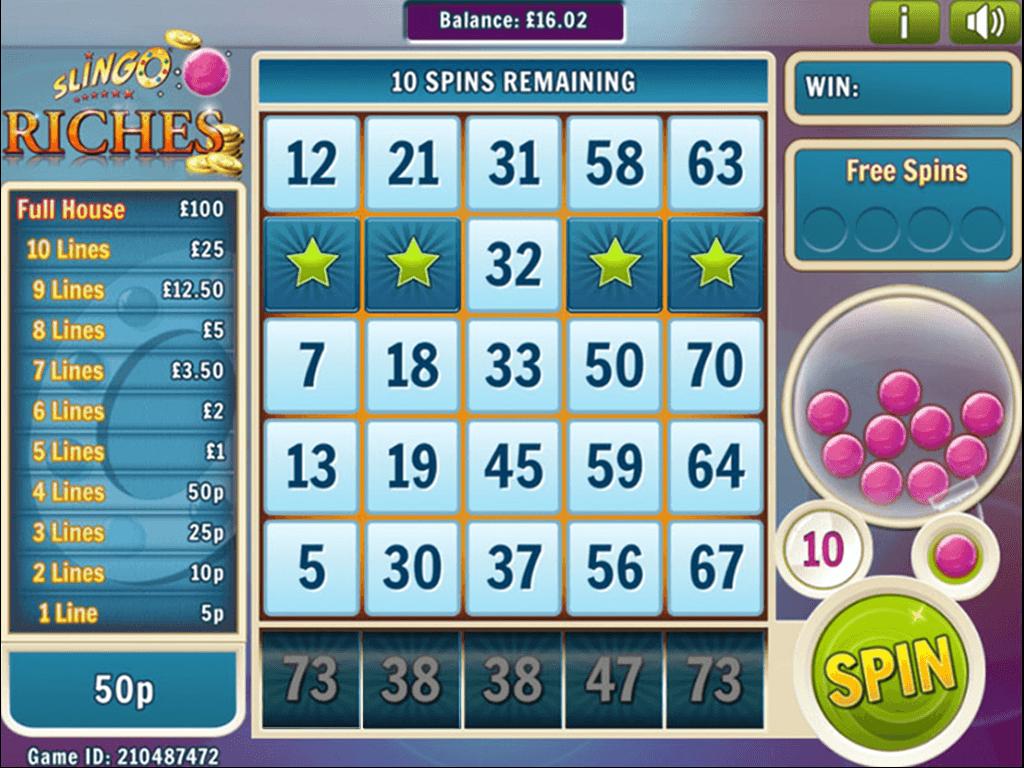Top 1 Slingo Slot