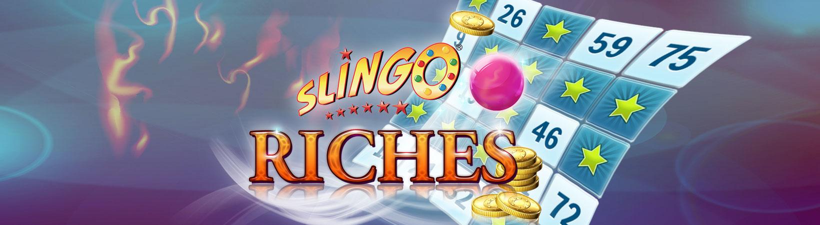 Slingo Riches Slot Logo Umbingo