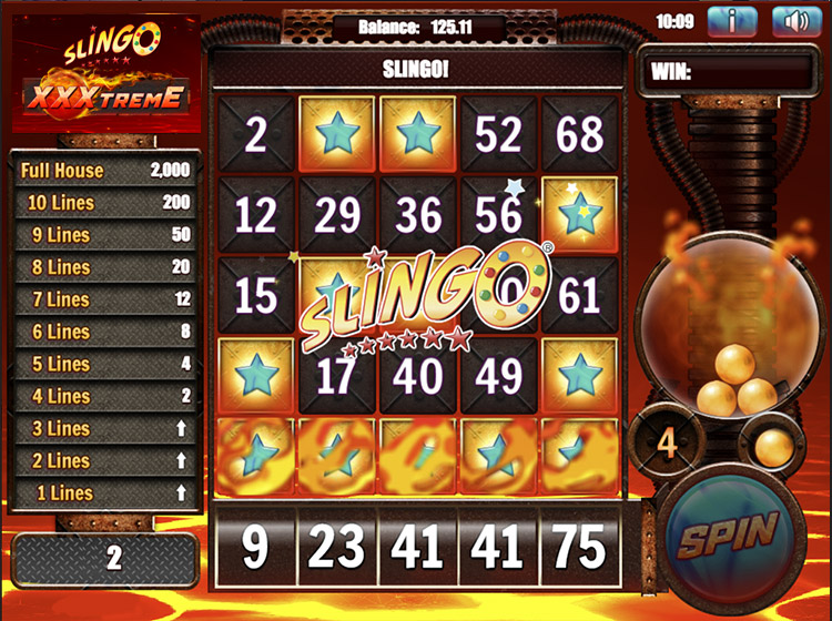 Slingo XXXtreme Slot Game Play
