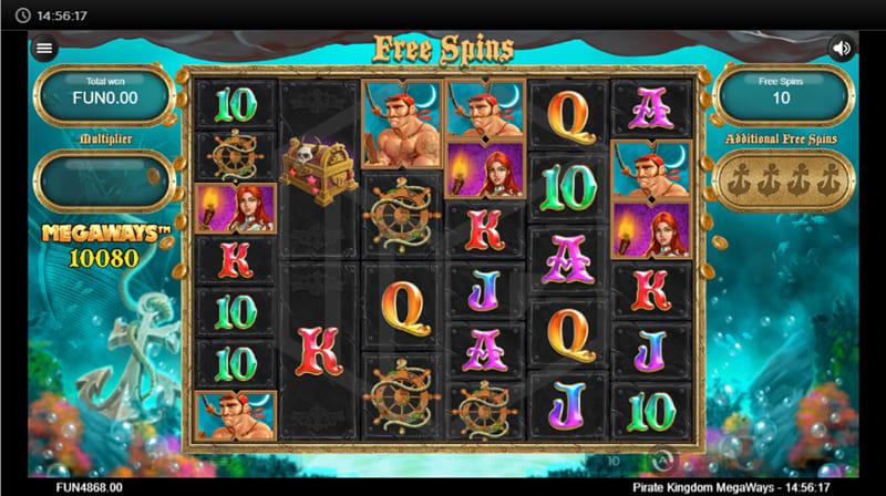 Pirate Kingdom Megaways Online Casino