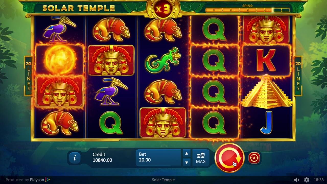 Solar Temple Slots Online