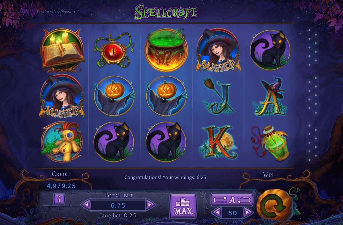 Spellcraft Slots Free