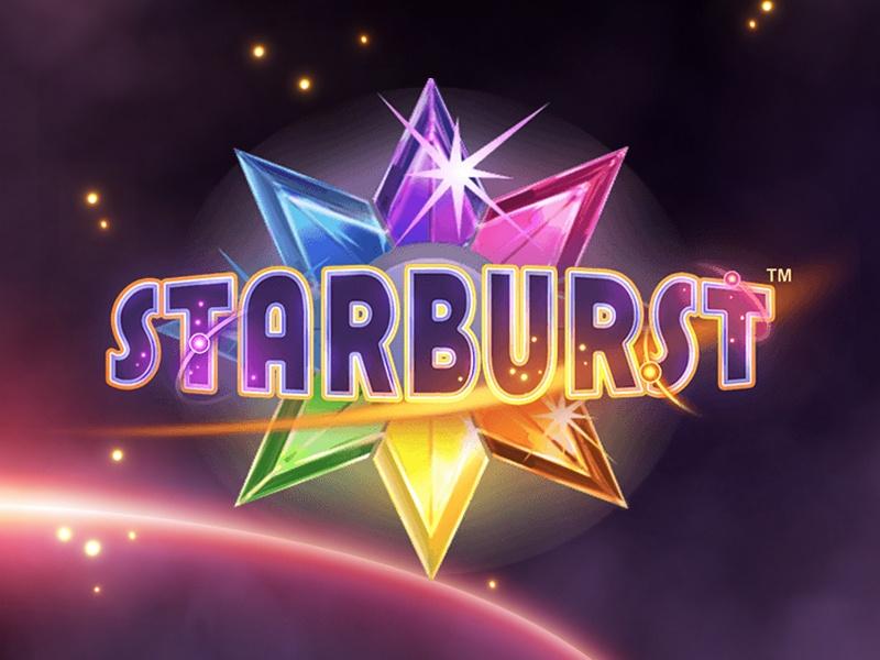 Starburst logo slot