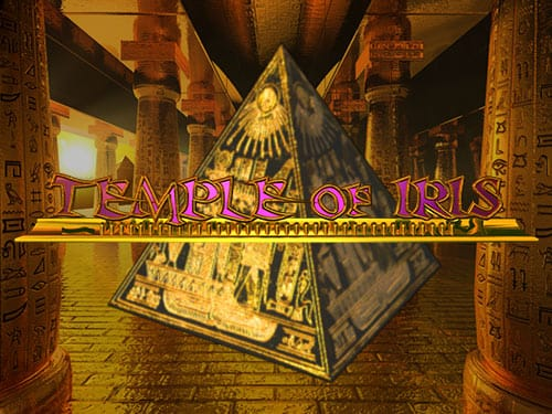 Temple of Iris Slot Logo