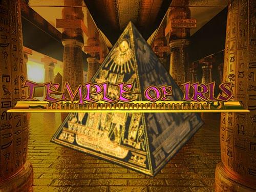 Temple of Iris Slot Logo