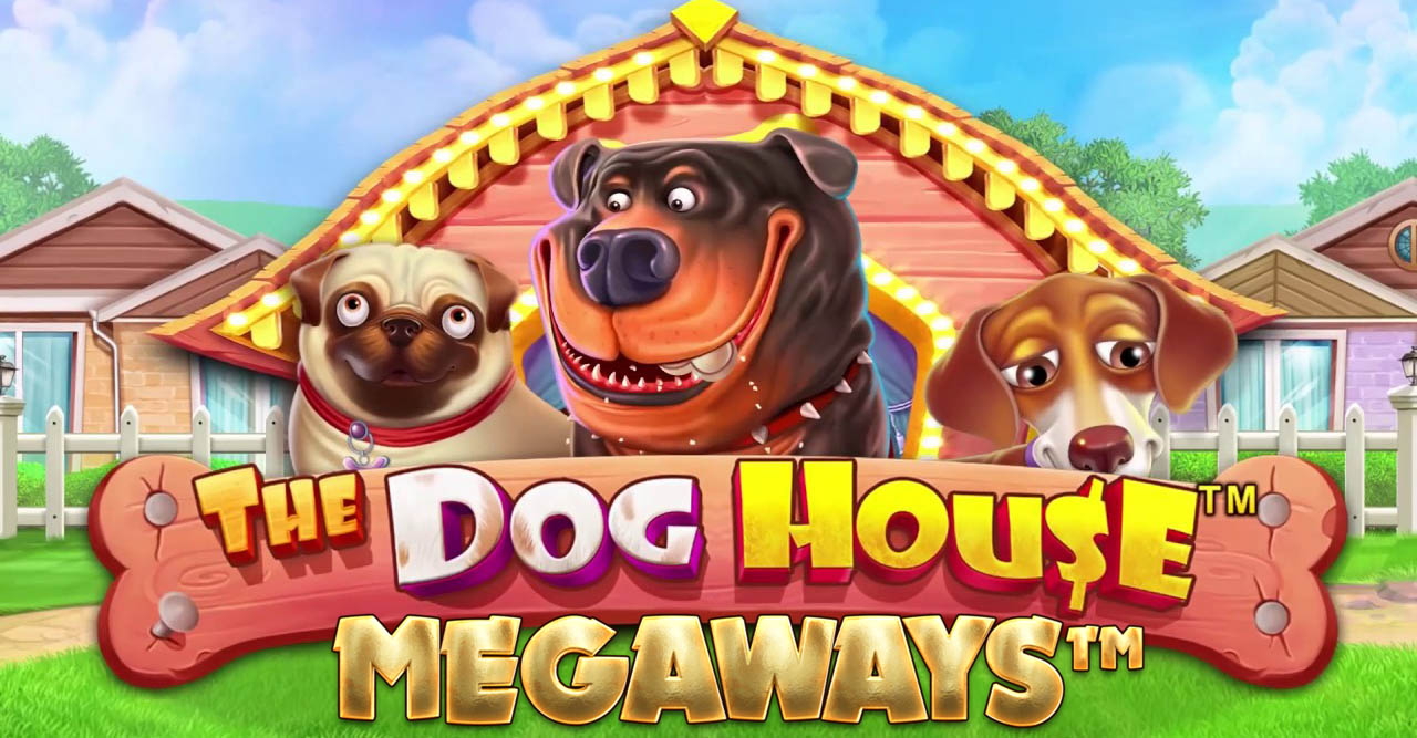 The Dog House Megaways Slot Logo Umbingo