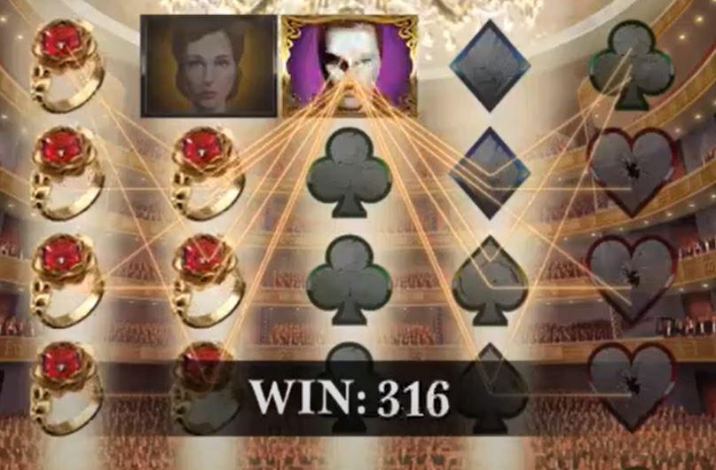 The Phantoms Curse Slot Win