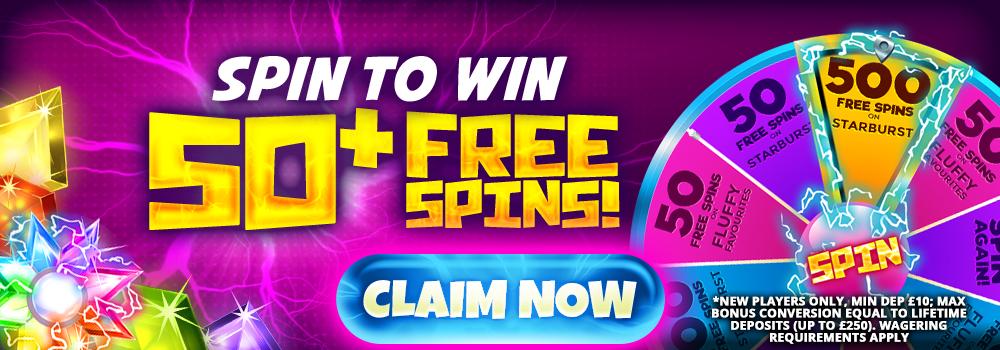50 free spins - Umbingo