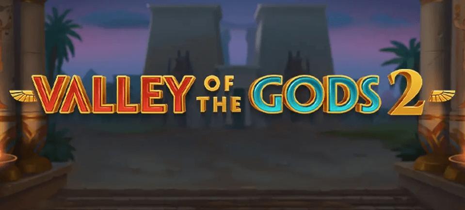 Valley of the Gods 2 Slot Logo Umbingo