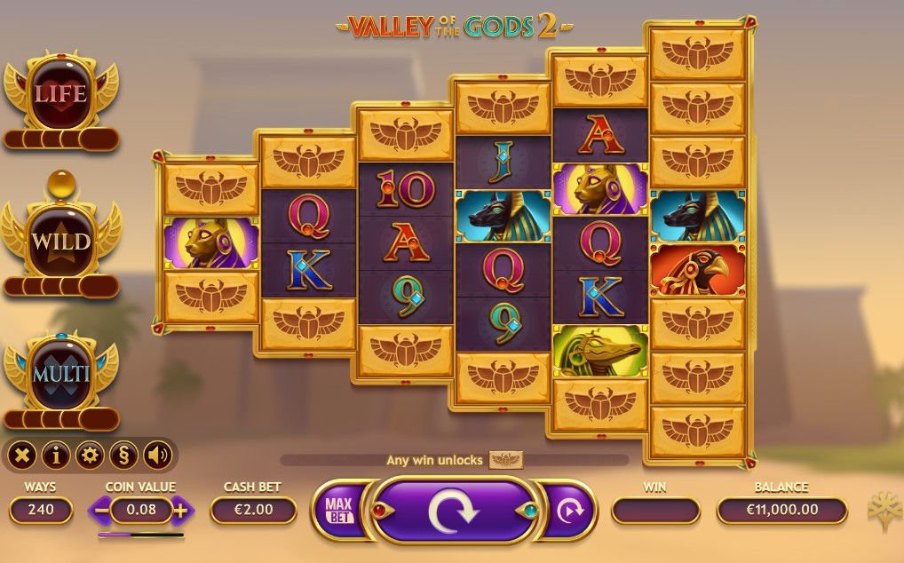 Valley of the Gods 2 Slot Online